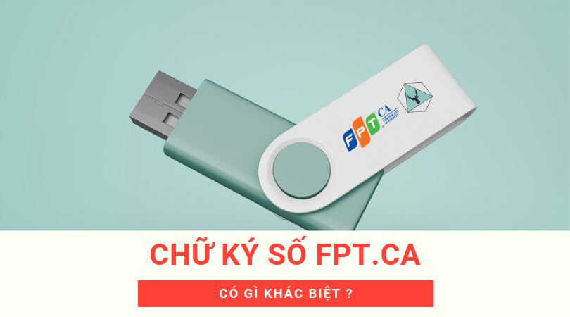 Báo giá dịch vụ chữ ký số FPT-CA giá rẻ mới nhất